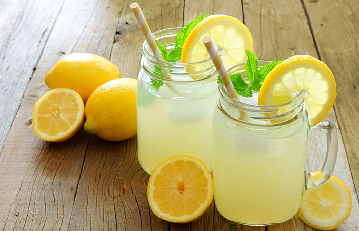 boisson pour maigrir citron